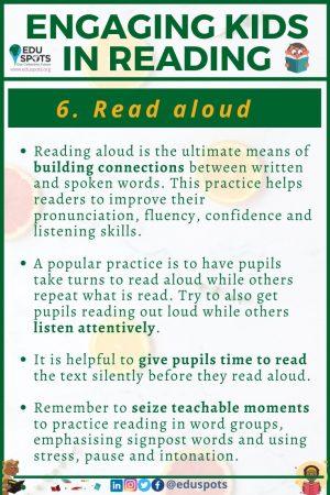 Read aloud Use visualisation
