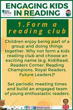 Ideas for Engaging Kids in Reading